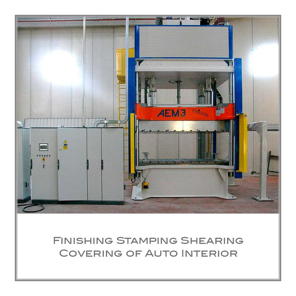 Finishing Stamping Shearing Covering of Auto Interior